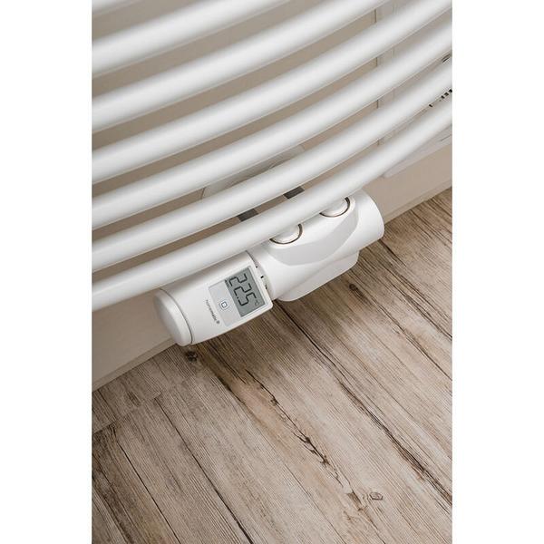 ELV Homematic IP Komplettbausatz Heizkörperthermostat HMIP-eTRV-2, für Smart Home / Hausautomation