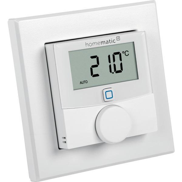 Homematic IP Wired Wandthermostat mit Luftfeuchtigkeitssensor HmIPW-WTH