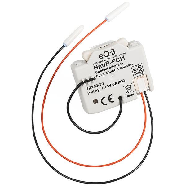 ELV Homematic IP Komplettbausatz Kontakt-Schnittstelle Unterputz - 1-fach HmIP-FCI1