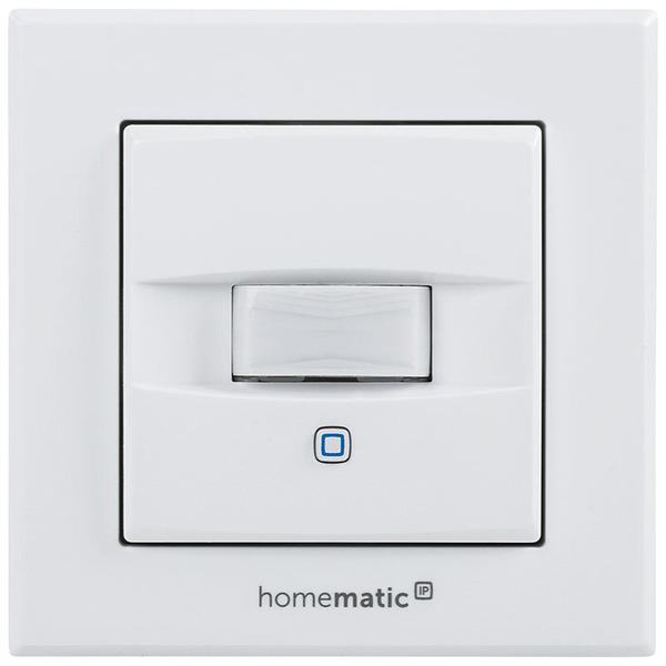 Homematic IP Wired-Bewegungsmelder und Wandtaster für 55er Rahmen HmIPW-SMI55, Bausatz