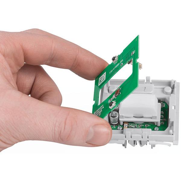 Homematic IP Wired Bausatz Bewegungsmelder und Wandtaster für 55er Rahmen HmIPW-SMI55