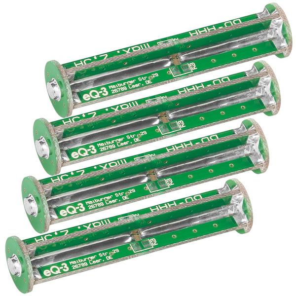 ELV Komplettbausatz Batterie-Dummy-Set BD-AAA, 4x Micro