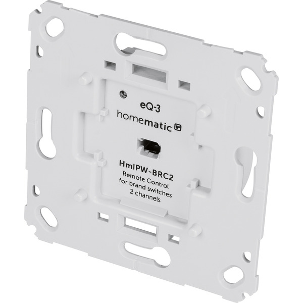 Homematic IP Wired Wandtaster für Markenschalter HmIPW-BRC2, 2-fach