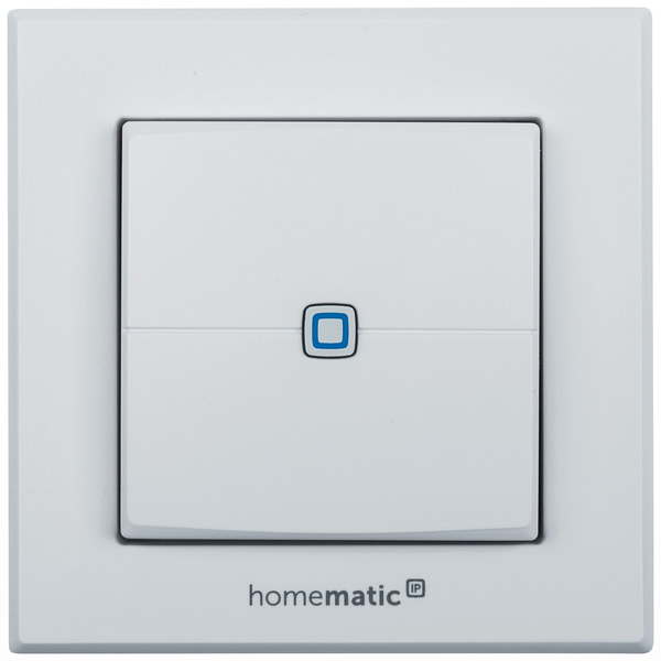 ELV Homematic IP Komplettbausatz Wandtaster HMIP-WRC2, 2-fach für Smart Home / Hausautomation