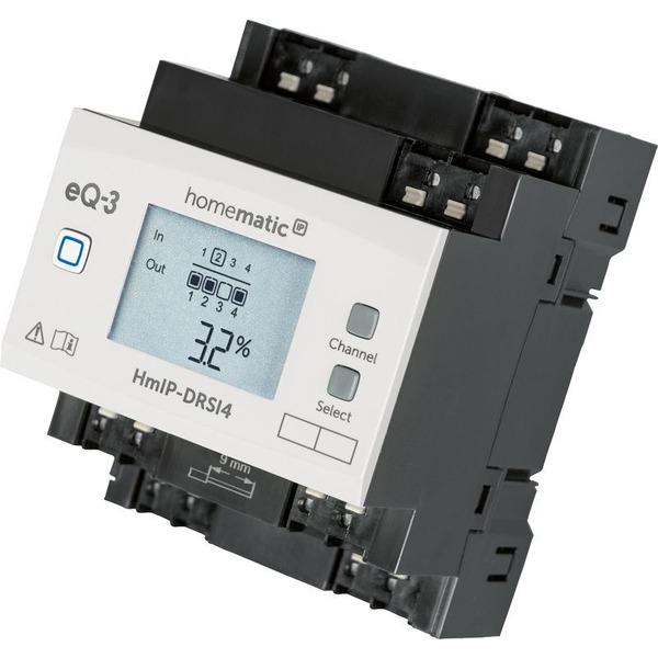 Homematic IP Schaltaktor für Hutschienenmontage HmIP-DRSI4, 4-fach