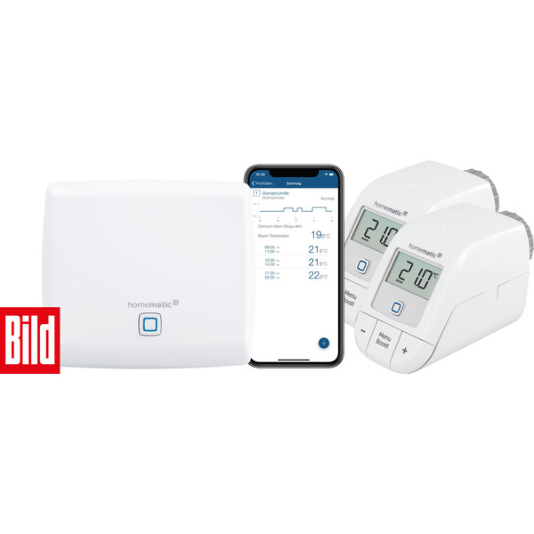 Homematic IP Set Heizen – BILD-Edition