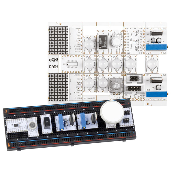 ELV Bausatz Prototypenadapter für Steckboards PAD4, digital