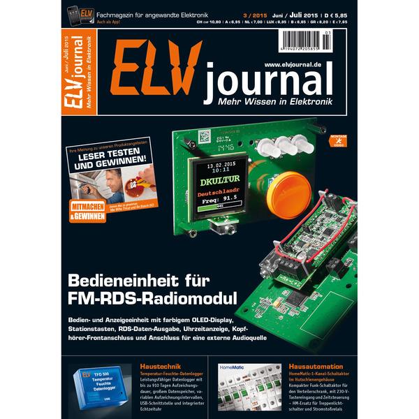 ELVjournal Ausgabe 3/2015 Digital (PDF)