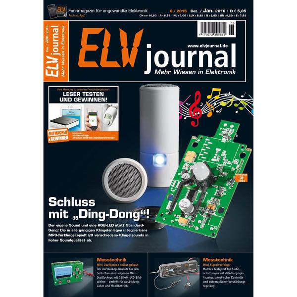 ELVjournal Ausgabe 6/2015 Digital (PDF)