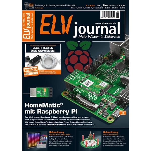 ELVjournal Ausgabe 5/2015 Digital (PDF)