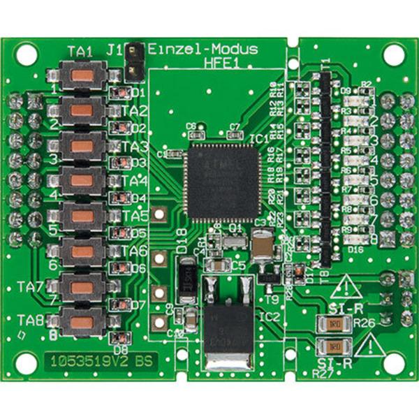 FS20 einfach integrieren - Steckbares 8-Kanal-Schaltmodul FS20 SM8