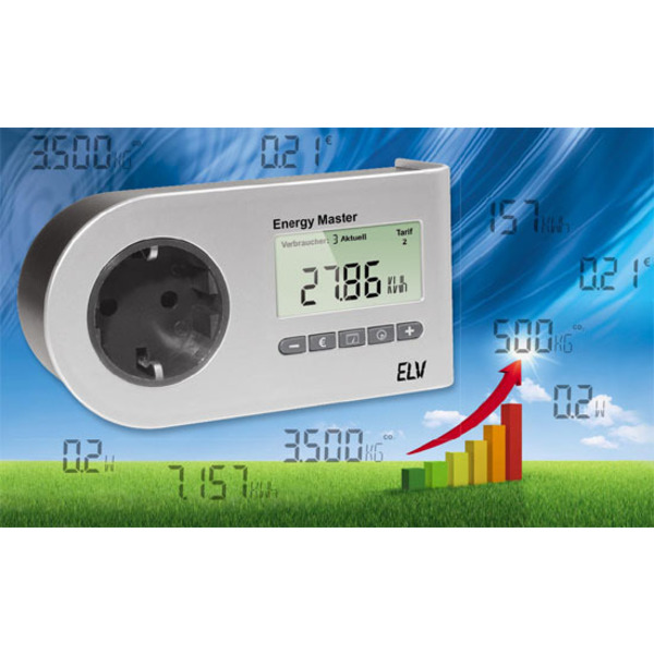 Energiekosten-Messgerät - Energy Master als ARR-Bausatz Teil 1/2