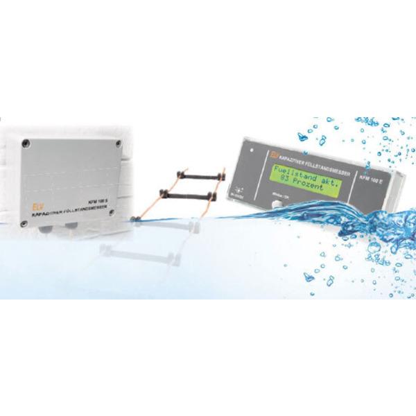 Kapazitiver Füllstandsmesser KFM 100 - Kontrolle von Wassertanks einfach und sicher
