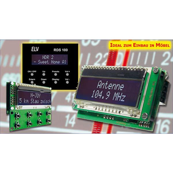Mini-Stereo-RDS-Radio-Modul RDS 100 Teil 2/3