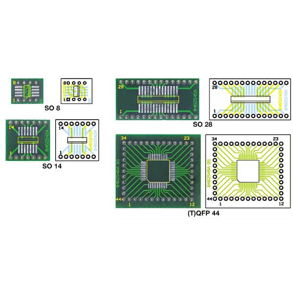 SMD-ICs einfacher handhaben - SMD-Adapter