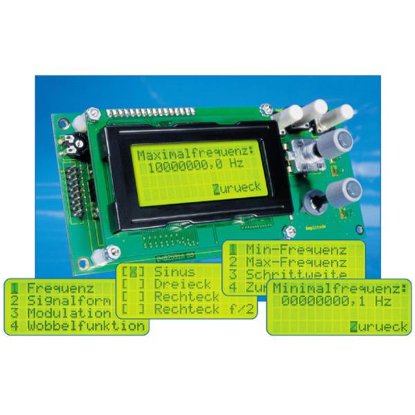 10-MHz-DDS-Funktionsgenerator DDS10