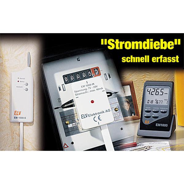 """""""Stromdiebe"""" schnell erfasst - Energiemontior EM 1000 Teil 2/2"""