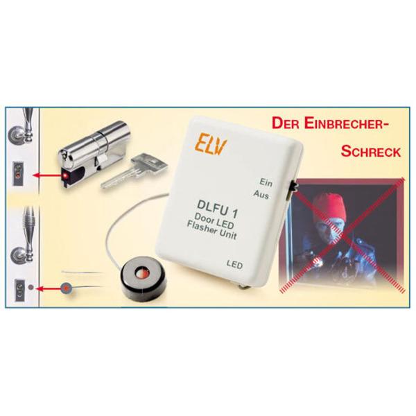 LED-Alarm-Blinker DLFU 1 – Der Einbrecher-Schreck