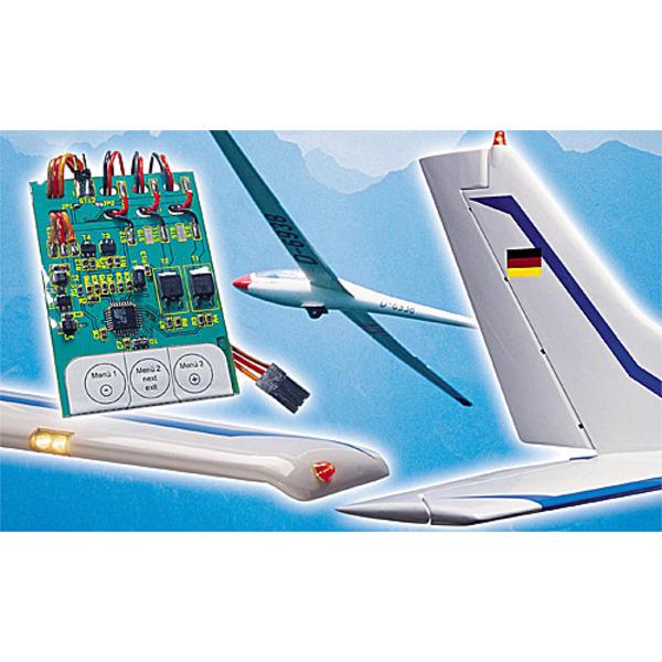 Modellflug-Beleuchtungsmodul MFB5