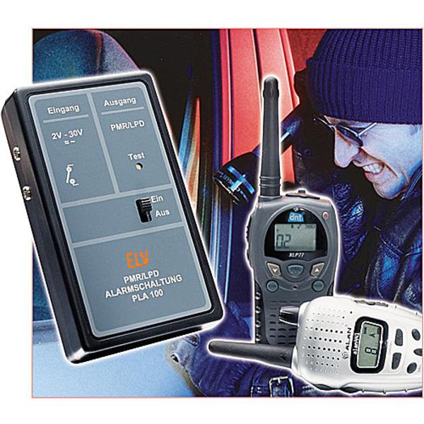 Alarmzusatz für PMR-/LPD-Funkgeräte PLA100