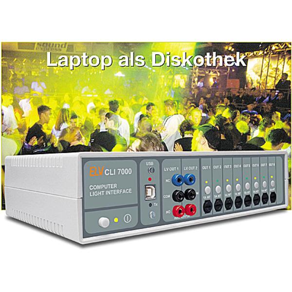 Laptop als Diskothek - Computer-Light-Interface CLI7000 Teil 3/3