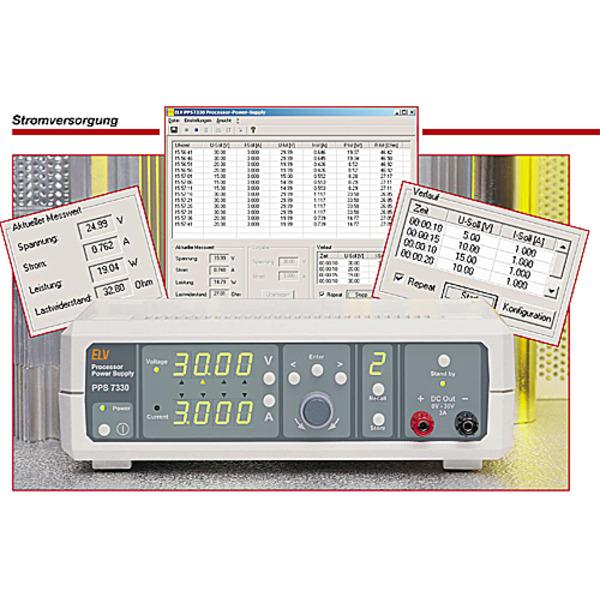 Prozessor-Power-Supply PPS7330 Teil 2/4
