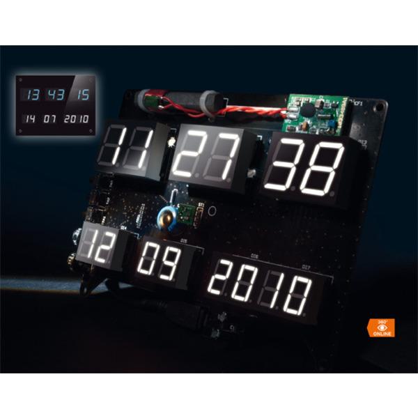 Flexibel – LED-Uhr DCF-7SEG mit Zeit- und Datumsanzeige Teil 2/2