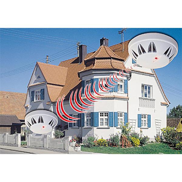 Lebensretter fürs ganze Haus - ELV Funk-Rauchmeldesystem