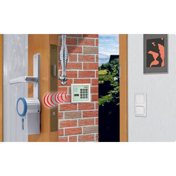 Leserwettbewerb - Ihre Haustechnik-Anwendungen: Funk-Codeschloss selbstgebaut - Codeschloss mit Home