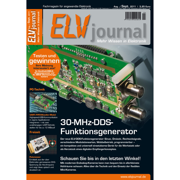 ELVjournal Ausgabe 4/2011 Digital (PDF)