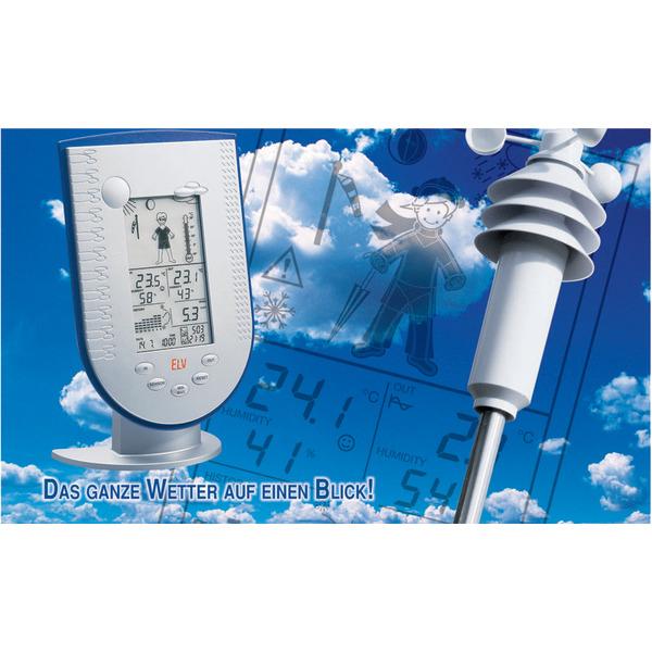 Funk-Wetterstation WS 200 Außensensor KS 200