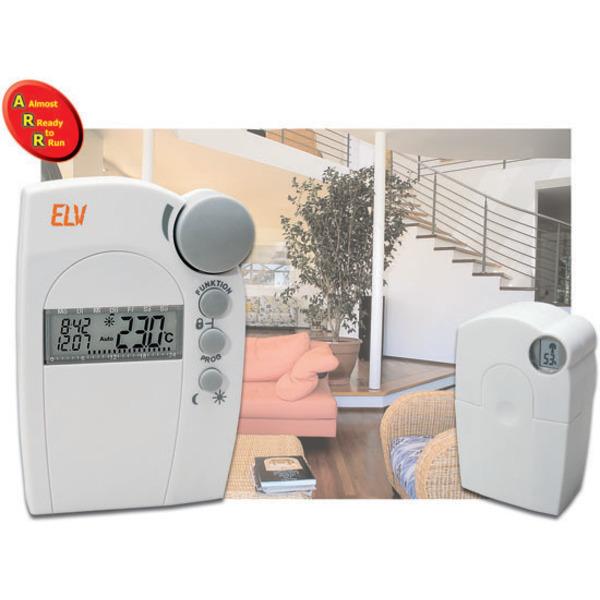 Funk-Heizkörperthermostat-System - Funk-Ventilantrieb FHT 8V