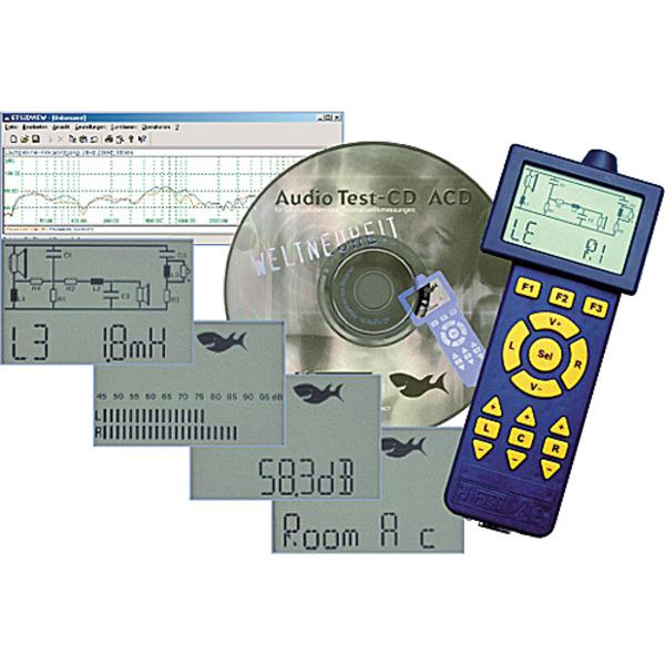HiFi-Messlabor kompakt - HiFisch Audio Controller AC 2.0
