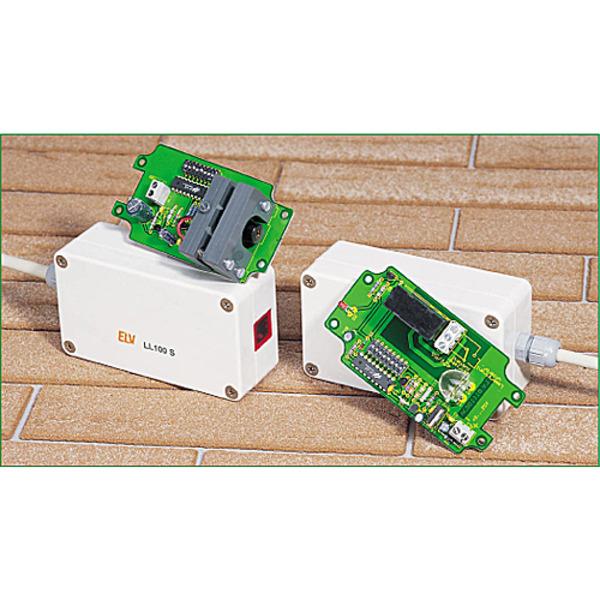Laser-Lichtschranke LL100 mit hoher Reichweite
