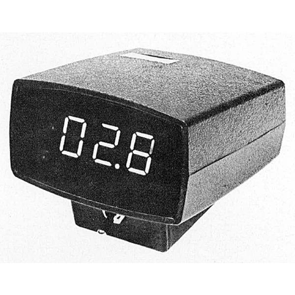 Digitales, elektronisches Kfz-Außen-/ Innen-Thermometer mit Eiswarner