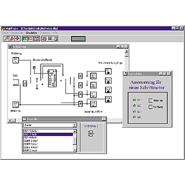Logiksimulation mit Hardware-Anbindung