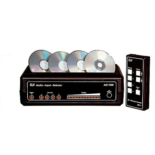 Audio-Input-Selector AIS 7000 Teil 1/2