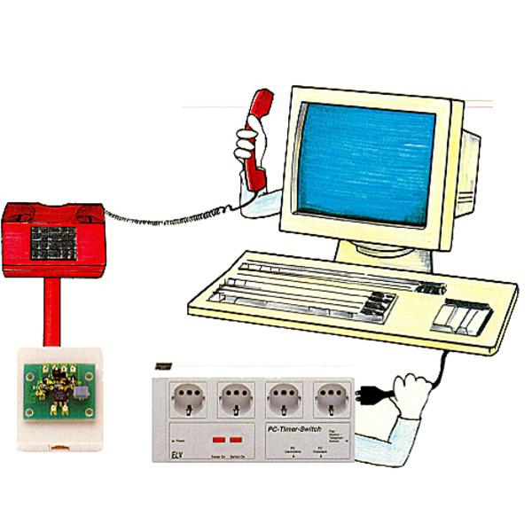 Telefon-Signalerkennung für PC-Timer-Switch TS 2000