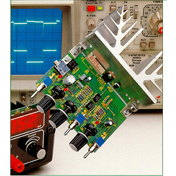 Einfache elektronische Last