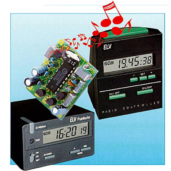 Melodien-Gong für DCF-Uhren