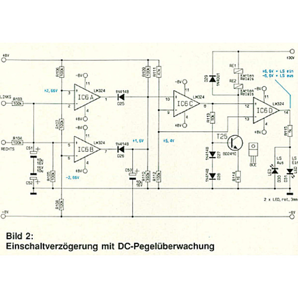 300 W HiFi-Stereo-Vollverstärker SV 300 Teil 1/2