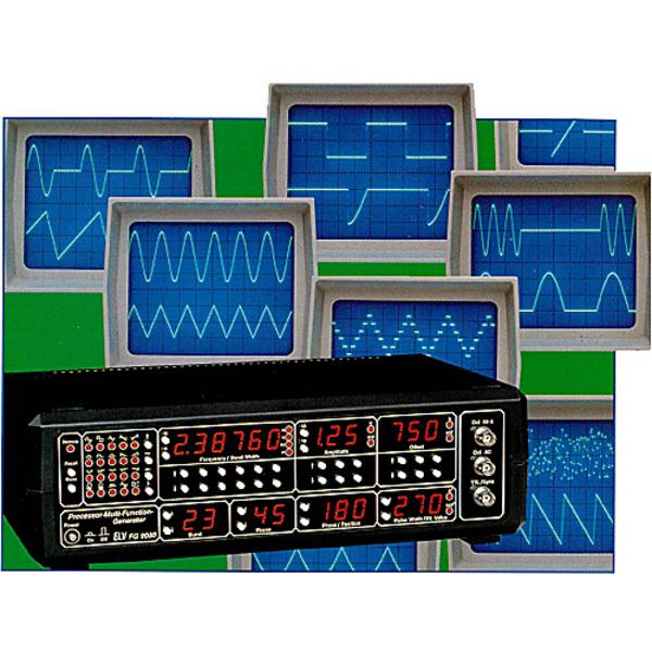 Prozessor-Multi-Funktions-Generator FG 9000 Teil 1/4