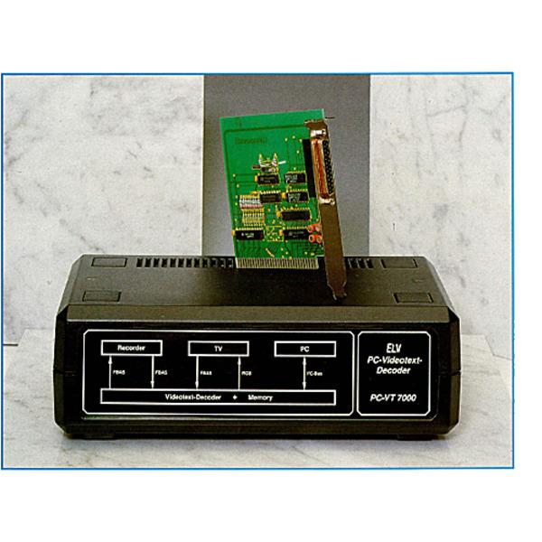 PC-Videotext-Decoder PC-VT 7000 Teil 1/3