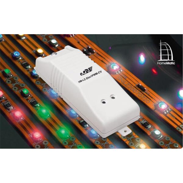 LED-Beleuchtung einfach dimmen – Homematic PWM-Dimmer für 12-V- und 24-V-LEDs