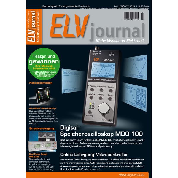 ELVjournal Ausgabe 1/2012 Digital (PDF)
