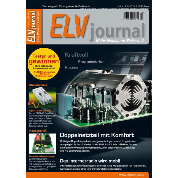 ELVjournal Ausgabe 3/2012 Digital (PDF)