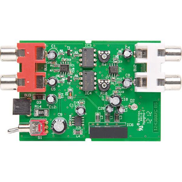 Optischer Trennverstärker OTV100 für analoge Audiosignale