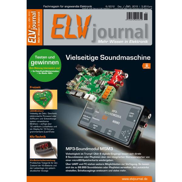 ELVjournal Ausgabe 6/2012 Digital (PDF)