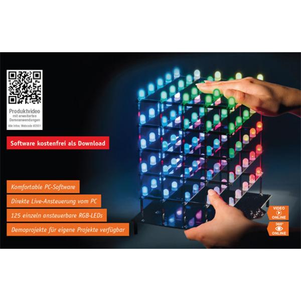 5x5x5-RGB-Cube in eigene Anwendungen integrieren