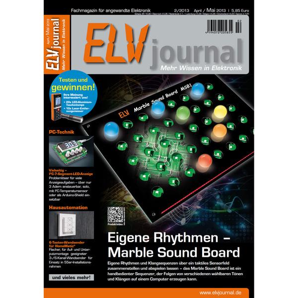 ELVjournal Ausgabe 2/2013 Digital (PDF)